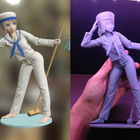 image about 3d Printable Figures named 3D Released Sailor Woman 3D Printable Determine via JohnnieWhiskey