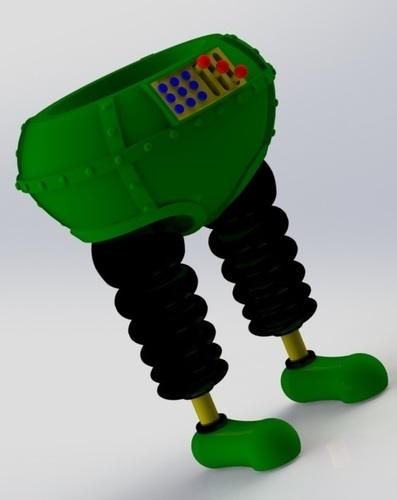 The Wrong Trousers - from Wallace and Gromit 3D Print 121031