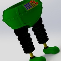 Small The Wrong Trousers - from Wallace and Gromit 3D Printing 121031