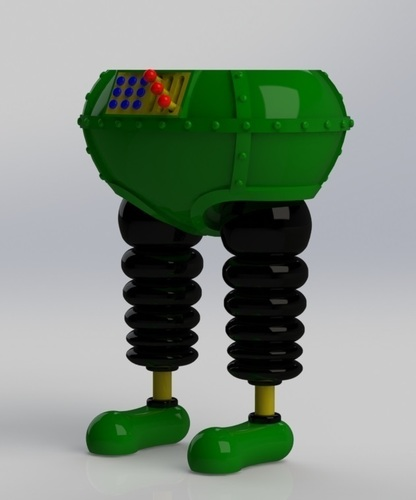 The Wrong Trousers - from Wallace and Gromit 3D Print 121038