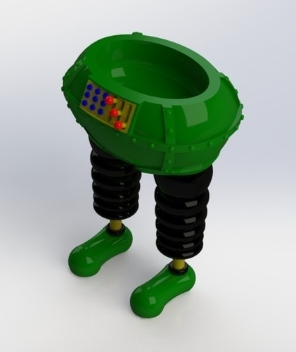The Wrong Trousers - from Wallace and Gromit 3D Print 121044
