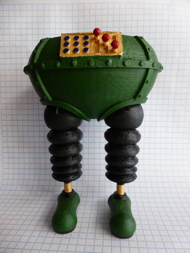 The Wrong Trousers - from Wallace and Gromit 3D Print 121046