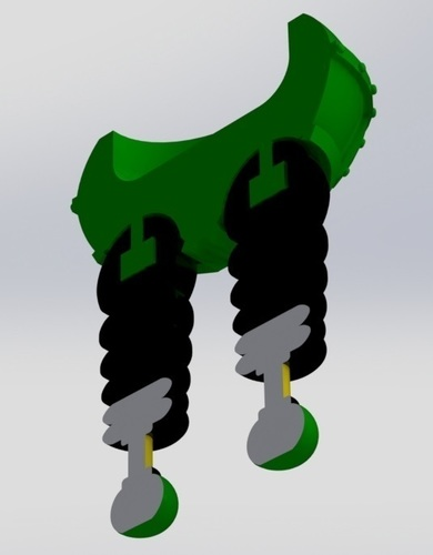 The Wrong Trousers - from Wallace and Gromit 3D Print 121047
