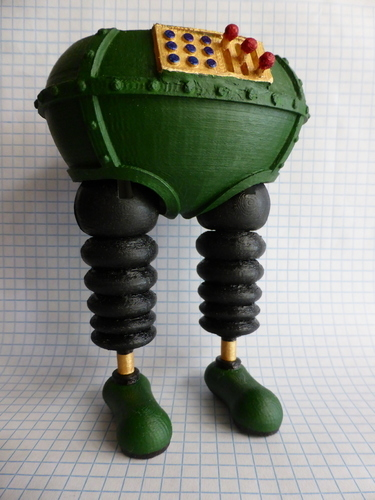 The Wrong Trousers - from Wallace and Gromit 3D Print 121049