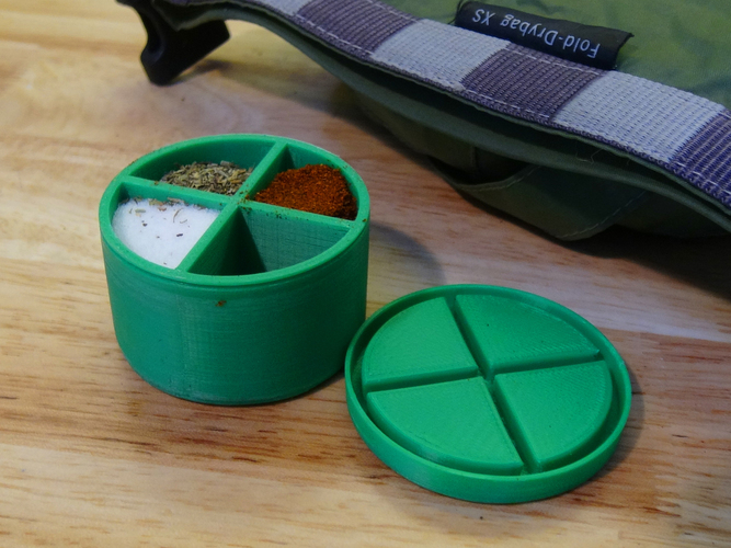 Spice Storage Container 3D Print 121232