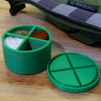 Small Spice Storage Container 3D Printing 121232