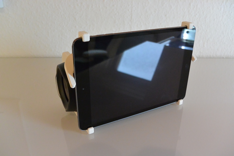 3D Printed iPad JBL Charge Stand by MakeThings3D | Pinshape