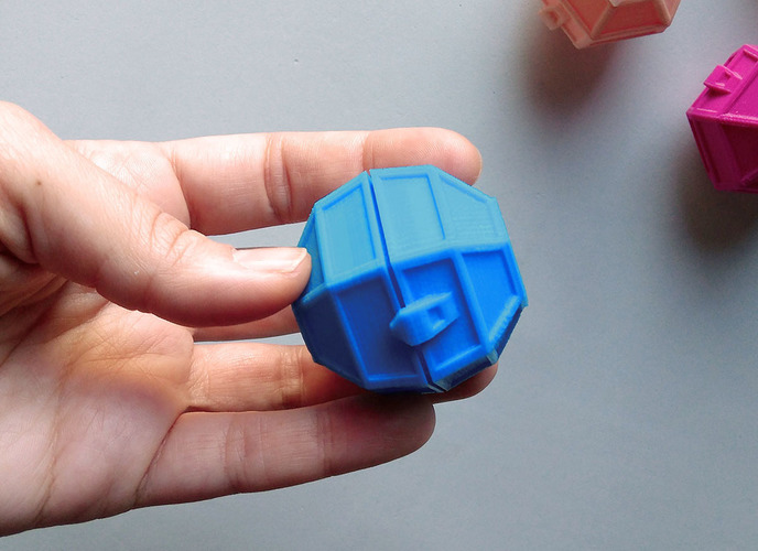 Small box with hinge 3D Print 121299