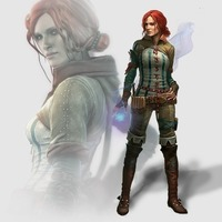 Small Triss - The Witcher 3D Printing 121304