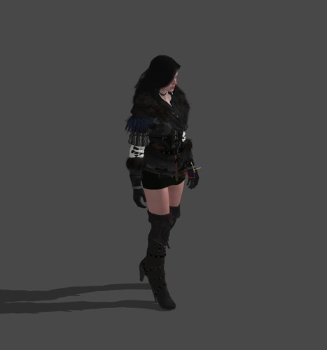 Yennefer - The Witcher 3 3D Print 121306