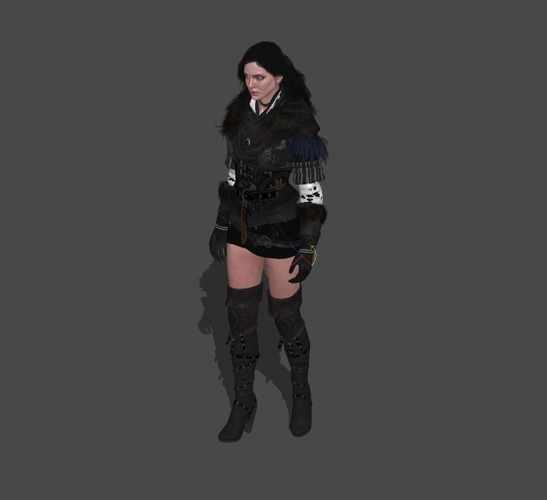 Yennefer - The Witcher 3 3D Print 121307