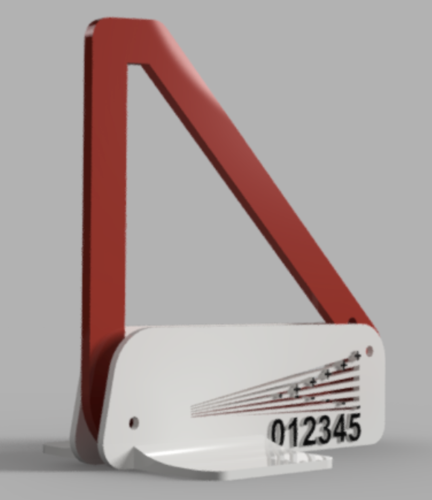 Camber Gauge +/- 5 Degrees 3D Print 121406