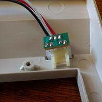 Small Commodore 128 LED bracket 3D Printing 121451