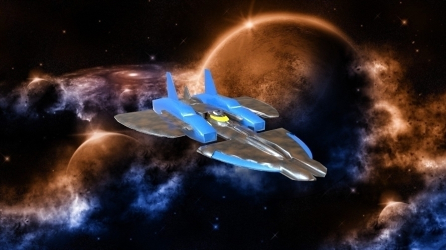 SF-72 Space Craft - *FREE DOWNLOAD* 3D Print 121553