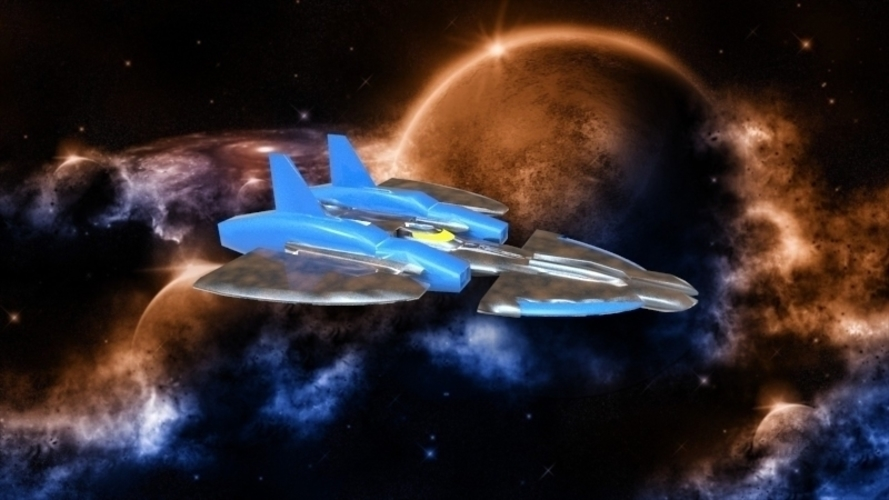 SF-72 Space Craft - *FREE DOWNLOAD* 3D Print 121554
