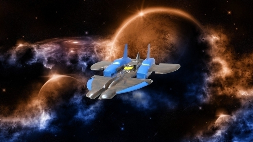 SF-72 Space Craft - *FREE DOWNLOAD* 3D Print 121555