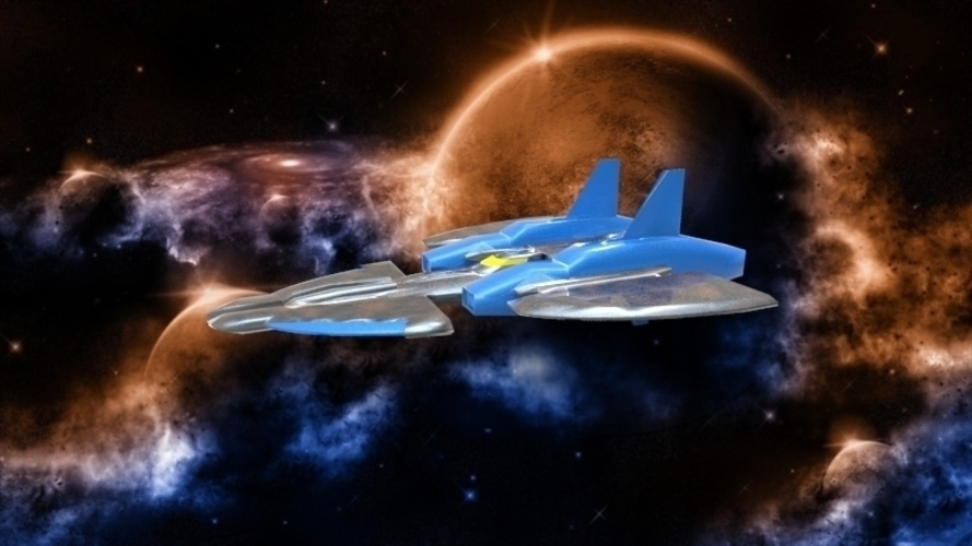SF-72 Space Craft - *FREE DOWNLOAD* 3D Print 121556