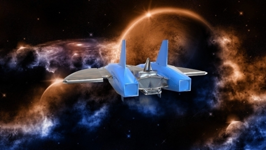 SF-72 Space Craft - *FREE DOWNLOAD* 3D Print 121557