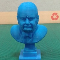 Small Churchill 3D Printing 121602
