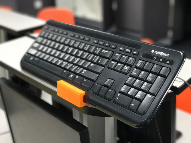Keyboard/Mouse Holder 3D Print 121656