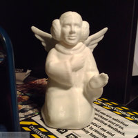 Small arrie Fisher - Princess Leia - Angel 3D Printing 121767
