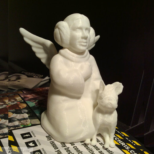 arrie Fisher - Princess Leia - Angel 3D Print 121770