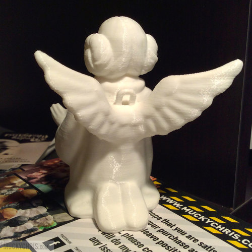 arrie Fisher - Princess Leia - Angel 3D Print 121771