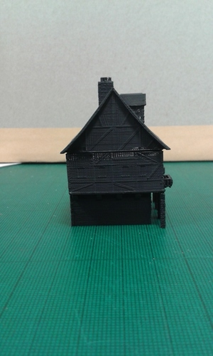 Another Tudor style house for Wargaming 3D Print 121852