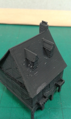 Another Tudor style house for Wargaming 3D Print 121854