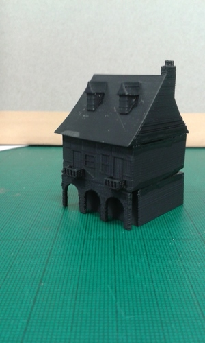 Another Tudor style house for Wargaming 3D Print 121855