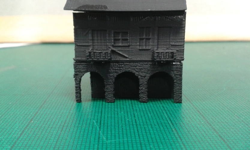 Another Tudor style house for Wargaming 3D Print 121856