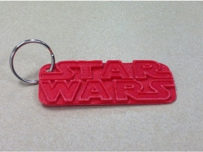 Star Wars Keychain - Remix 3D Print 121890