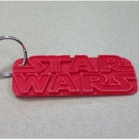 Small Star Wars Keychain - Remix 3D Printing 121890