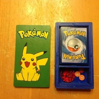 Small Pokemon Deckbox with Coin/Damage Token Storage 3D Printing 121921