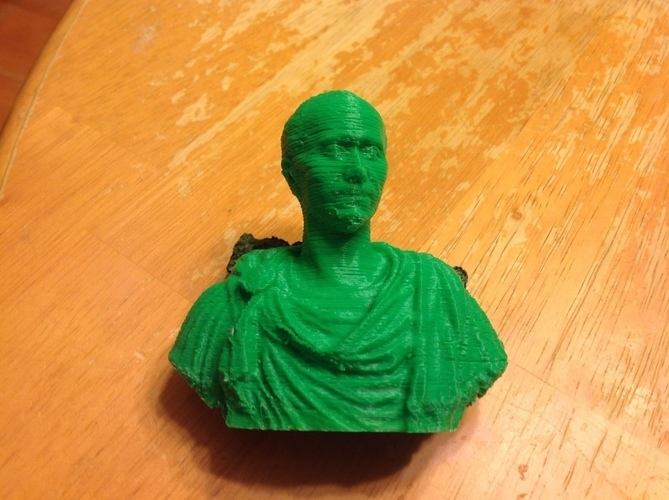 et tu, plumbum? - Julius Caesar Pencil Holder 3D Print 121956