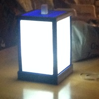 Small Lithophane Lamp 3D Printing 122013