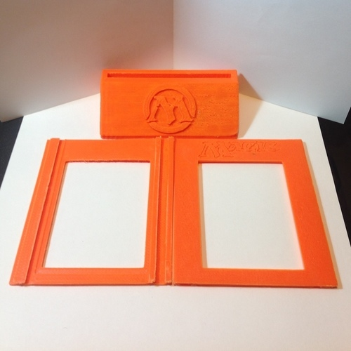 Magic The Gathering - Trophy/Card Display 3D Print 122041