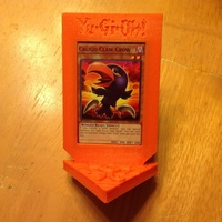 Small Yu-Gi-Oh Card Trophy/Stand - REMIX 3D Printing 122044