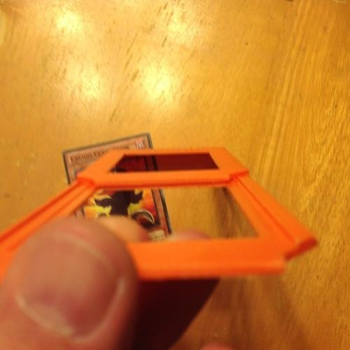 3D Printed Yu-Gi-Oh Card Trophy/Stand - REMIX by brimstone326 | Pinshape