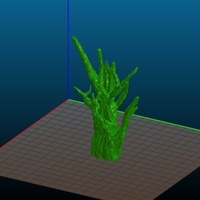 Small High Detail Spooky Tree - REMIX 3D Printing 122057