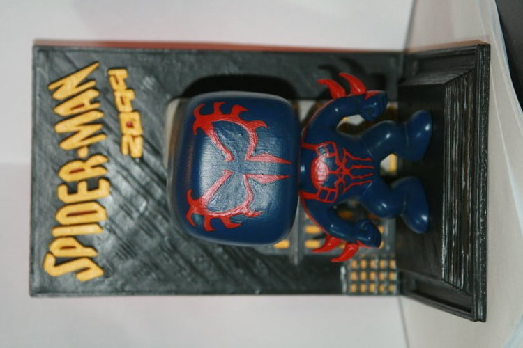Spiderman 2099 Funko Bobblehead UPGRADE 3D Print 122083