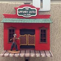 Small Cubicle Miniature Display - The Wayward Cactus 3D Printing 122095