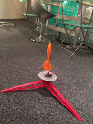 Launchable Rocket 300 ft Altitude 3D Print 122236
