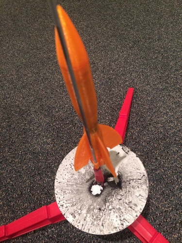 Launchable Rocket 300 ft Altitude 3D Print 122238