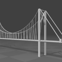 Small Bridge 3D 3D Printing 122302