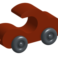 Small Toy Car 3D Printing 122329
