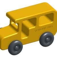 Small Toy Bus 3D Printing 122383