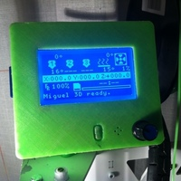 Small Graphic LCD 128x64 without black frame 3D Printing 122517