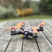 Small Quadcopter Frame (140-sized) - By 3DEX 3D Printing 122576