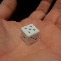 Small Magnet dice 3D Printing 122590